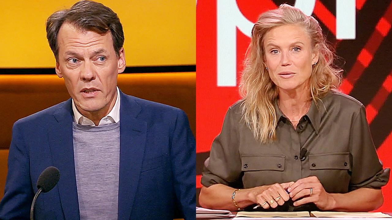 Tijs van den Brink en Sophie Hilbrand