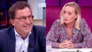 Diederik Gommers en Eva Jinek