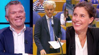 Wouter de Winther, Geert Wilders en Floor Bremer