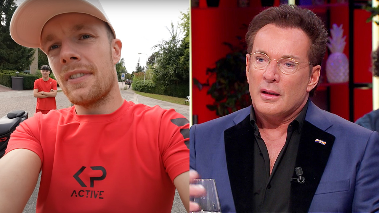 Enzo Knol en Gerard Joling
