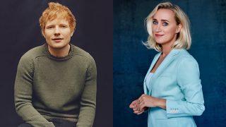 Ed Sheeran en Eva Jinek