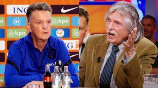 Louis van Gaal en Johan Derksen
