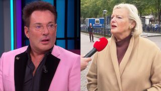 Gerard Joling en Ankie Broekers-Knol
