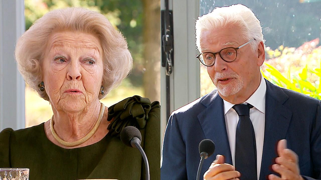Prinses Beatrix en Jan Slagter