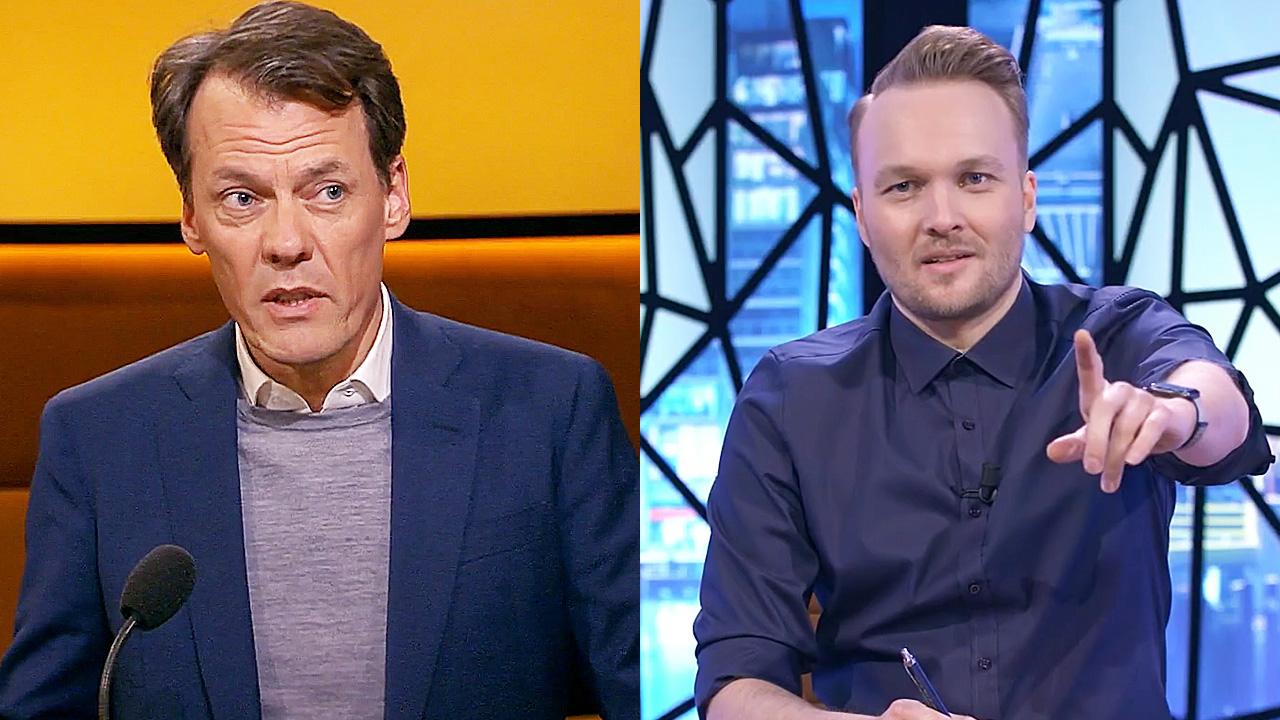 Tijs van den Brink en Arjen Lubach