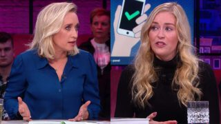 Eva Jinek en Raisa Blommestijn